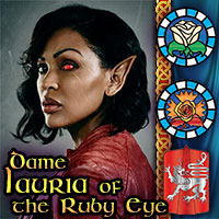 Dame Lauria of the Ruby Eye
